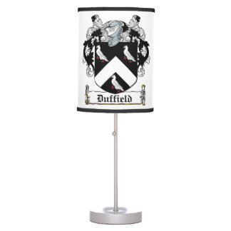 Duffield Family Crest Lamps
