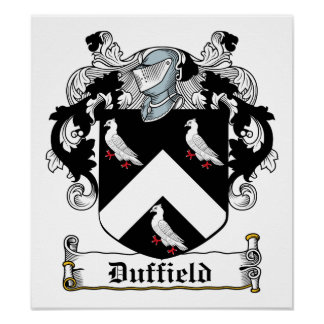Duffield Family Crest Poster