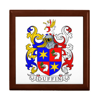 Duffin Coat of Arms Jewelry Boxes
