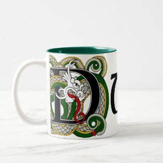 Duffy Celtic Dragon Mug