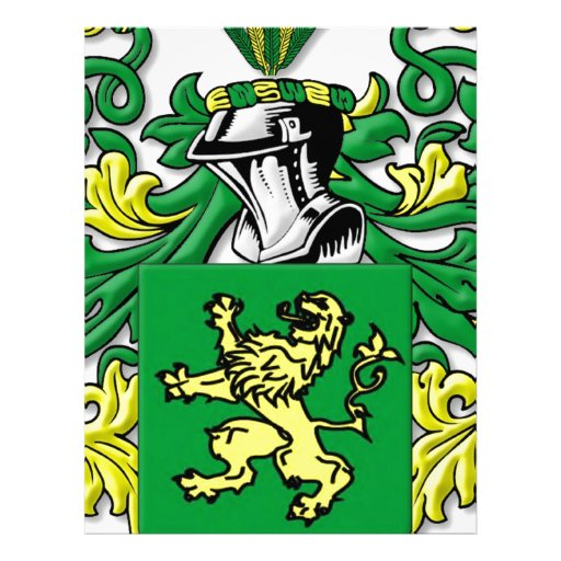 Duffy Coat of Arms Letterhead