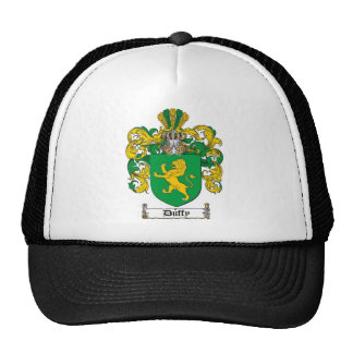 DUFFY FAMILY CREST -  DUFFY COAT OF ARMS TRUCKER HAT