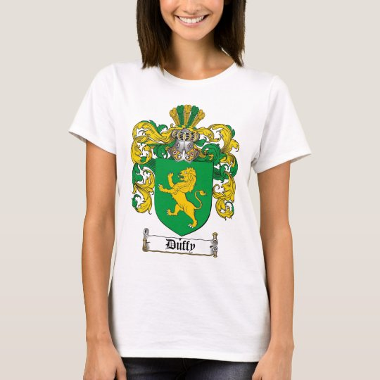 DUFFY FAMILY CREST -  DUFFY COAT OF ARMS T-Shirt
