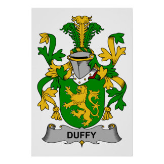 Duffy Family Crest Poster