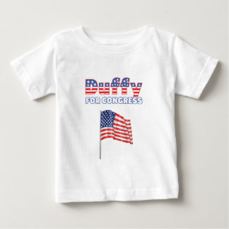 Duffy for Congress Patriotic American Flag Tee Shirt