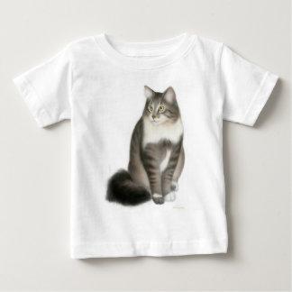 Duffy la camiseta del niño del gato de Coon de Remera