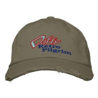DUFFY - Retro Pilgrim Embroidered Baseball Hat