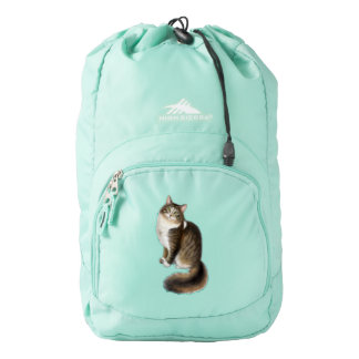 Duffy the Maine Coon Cat Backpack