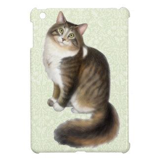 Duffy the Maine Coon Cat iPad Mini Case