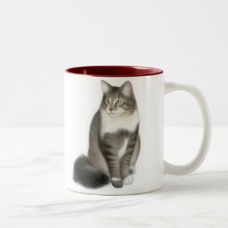 Duffy the Maine Coon Cat Mug