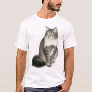 Duffy the Maine Coon Cat T-Shirt