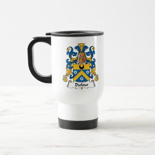 Dufour Family Crest Travel Mug