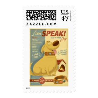 Dug - I can speak! - Muntz talking dog collar Stamp