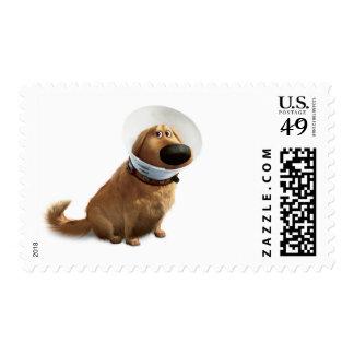 Dug the Dog from Disney Pixar UP Postage Stamp
