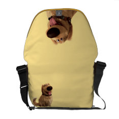 Dug The Dog From Disney Pixar Up - Smiling Courier Bag at Zazzle