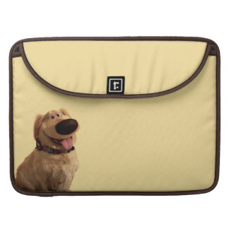 Dug the Dog from Disney Pixar UP - smiling MacBook Pro Sleeves