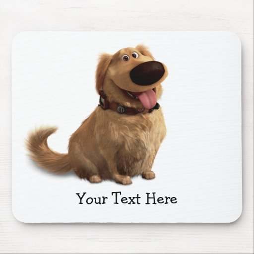 Dug the Dog from Disney Pixar UP - smiling Mouse Pad