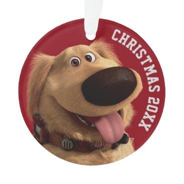 Disney Themed Dug the Dog from Disney Pixar UP - smiling Ornament