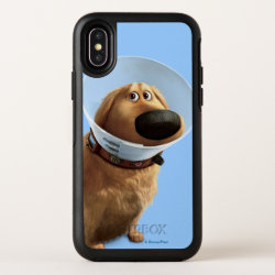 Dug the Dog from Disney Pixar UP - smiling OtterBox Symmetry iPhone X Case