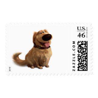Dug the Dog from Disney Pixar UP - smiling Postage Stamps