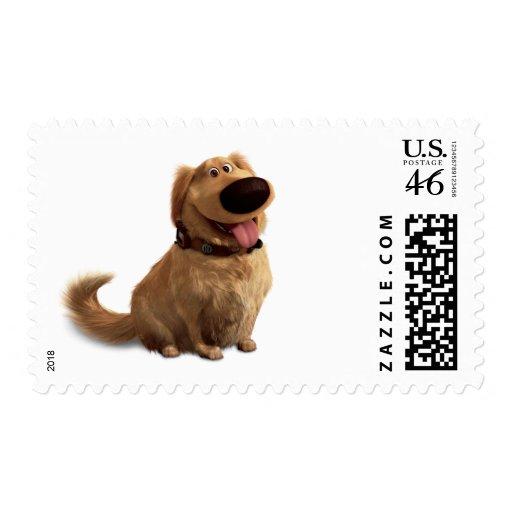 Dug the Dog from Disney Pixar UP - smiling Postage Stamps