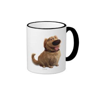 Dug the Dog from Disney Pixar UP - smiling Ringer Mug