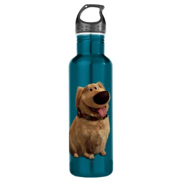 Disney Themed Dug the Dog from Disney Pixar UP - smiling Stainless Steel Water Bottle