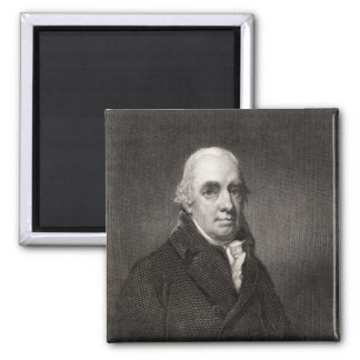 Dugald Stewart 2 Inch Square Magnet