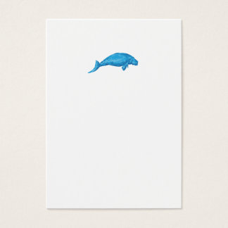Dugong Drawing Business Card