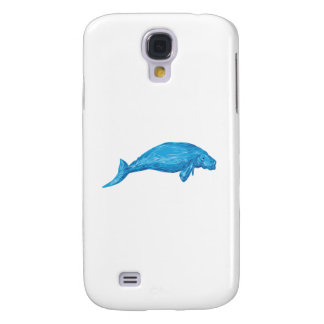 Dugong Drawing Samsung S4 Case