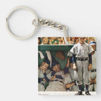 Dugout Double-Sided Square Acrylic Keychain