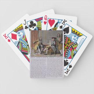 Duguay-Trouin (1673-1736) que cuenta de nuevo su e Baraja Cartas De Poker