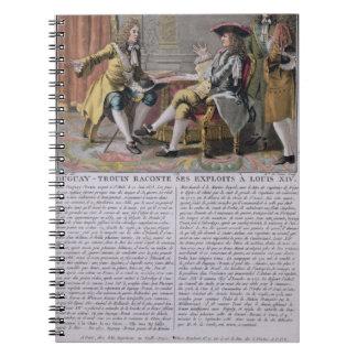 Duguay-Trouin (1673-1736) que cuenta de nuevo su e Libro De Apuntes