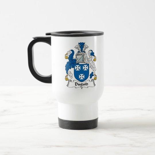 Duguid Family Crest Travel Mug