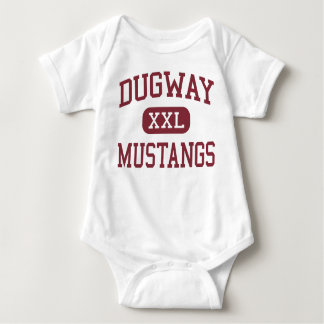 Dugway - Mustangs - High School - Dugway Utah T-shirt