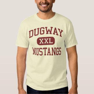 Dugway - Mustangs - High School - Dugway Utah Tshirt
