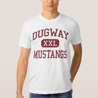 Dugway - Mustangs - High School - Dugway Utah Tshirts