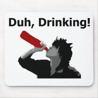 ¡Duh, bebiendo! Tapete De Ratón