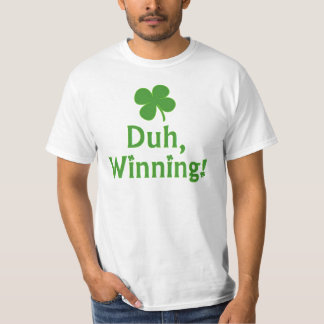¡Duh, ganando!  Camiseta Playeras
