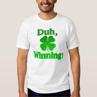 ¡Duh, ganando!  Camiseta Polera