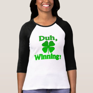 ¡Duh, ganando!  Camiseta Remeras