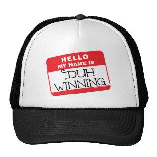 Duh ganando gorras de camionero