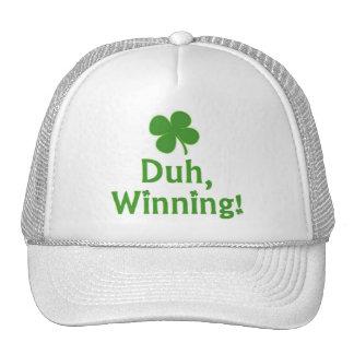 ¡Duh, ganando! Gorra del camionero