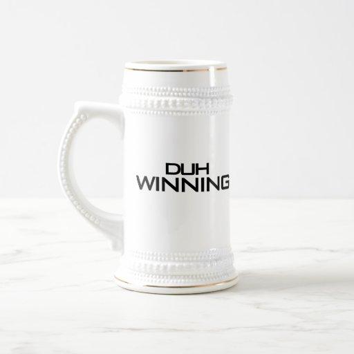 Duh ganando taza de café