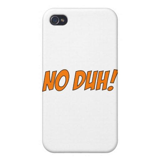 DUH iPhone 4 FUNDAS