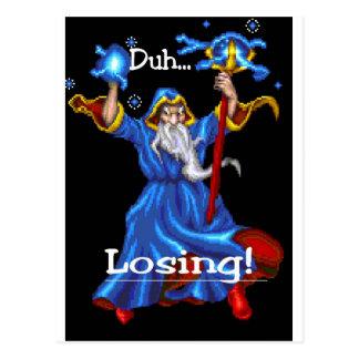 Duh Losing 2 Postcard