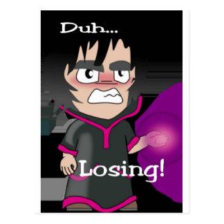 Duh Losing Warlock 1 Postcards