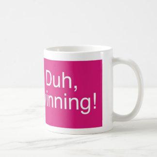 Duh magenta que gana taza de café