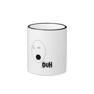 Duh-Man Ringer Coffee Mug