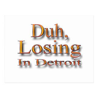 Duh perdiendo en el ylw de Detroit Postal